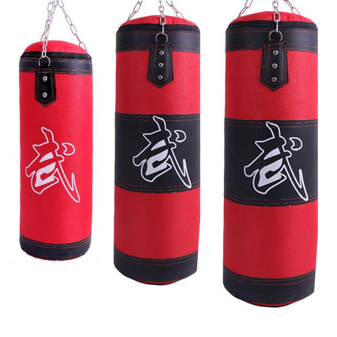 Martial Arts Tae Kwon Do Boxing Punching Bag Fitness Sandbags Striking Drop Hollow Empty Sand Bag Training Punch Target