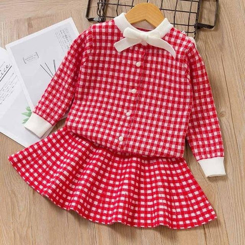Bear Leader Girls Autumn Clothing Sets 2020 Fashion Plaid Outfits Kids Casual Clothes Top Coat and Pants 2pcs Costumes Suit 3 7Y