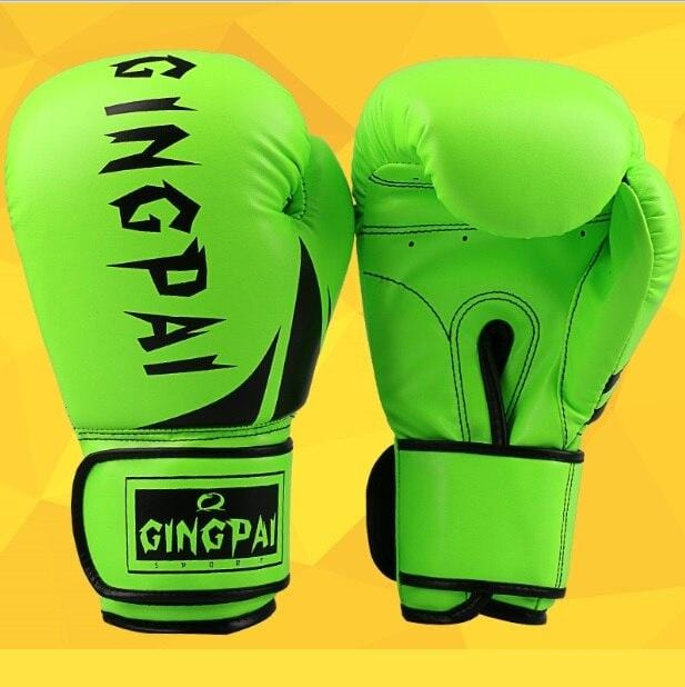 Professional Children Boxing Gloves 6oz Kids Free Combat Muay Thai Glove Kids Boxing Gloves for 5-14 Years Boys Girls pink gold