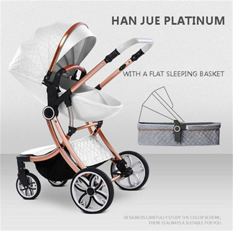 2020 New 3 in 1 Baby Stroller High Landscape Carriage double-sided newborn car Can Sit Can Lie Baby Pushchair