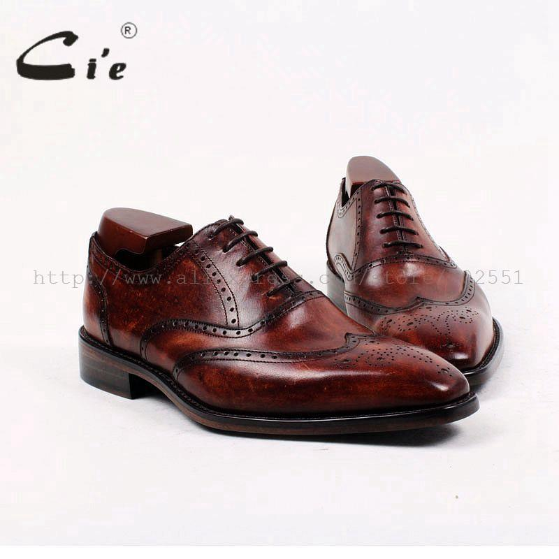 square toe bespoke leather men shoe custom handmade pure genuine calf upper outsole breathable leather men's dress oxford ox403