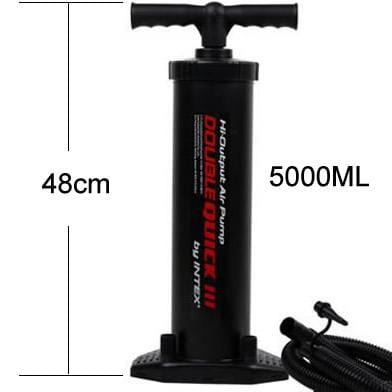 Outdoor inflator pump air inflator pump Motorboat inflator Manual inflation Portable inflatable equipment