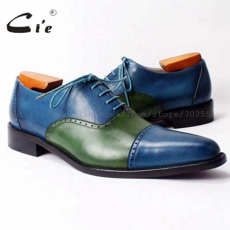 cie pointed captoe bespoke mens leather shoe custom handmade calf leather outsole breathable mens dress casual oxford shoe OX316