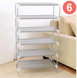 Shoe Cabinet Non-woven Shoes Racks Storage Large Capacity Home Furniture DIY Simple 5 layers Free Shipping