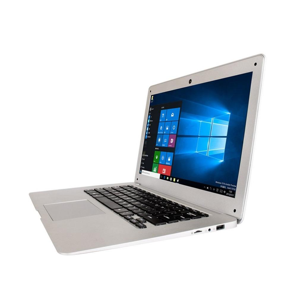 Jumper Original Ultrathin Laptop 14.1 Inch Windows 10 Notebook 1920x1080 FHD Intel Cherry Trail Quad Core 4GB+64GB Computer - EM