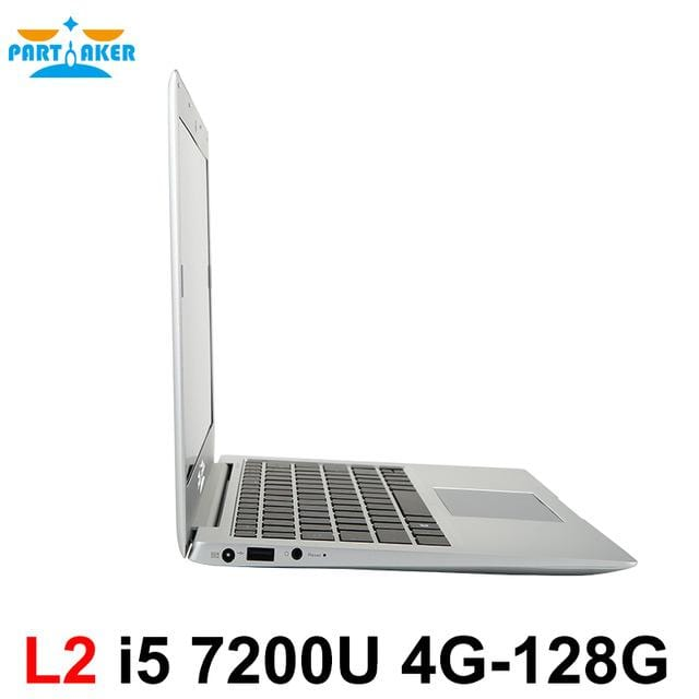 Partaker L2 13.3 Inch Windows 10 Laptop Computer Notebook Computer With Intel Core I5 7200U DDR4 Memory M.2 SSD - EM