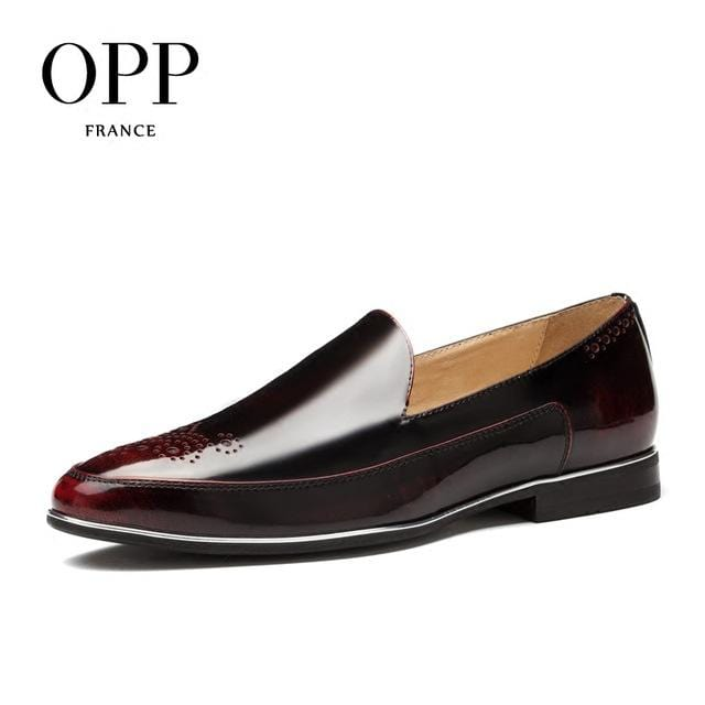 OPP Men's Oxfords Fashion Style Casual Low Shoes,Breathable Dress Shoes for Summer Party Dress shoes Office shoes