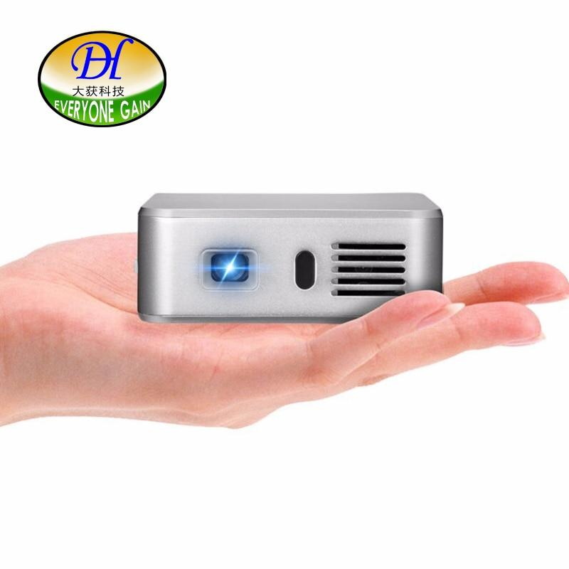 Everyone Gain A390 Smart pocket DLP projector build in android OS wifi bluetooth interactive projector 3000 MAH Video Projecteur - EM