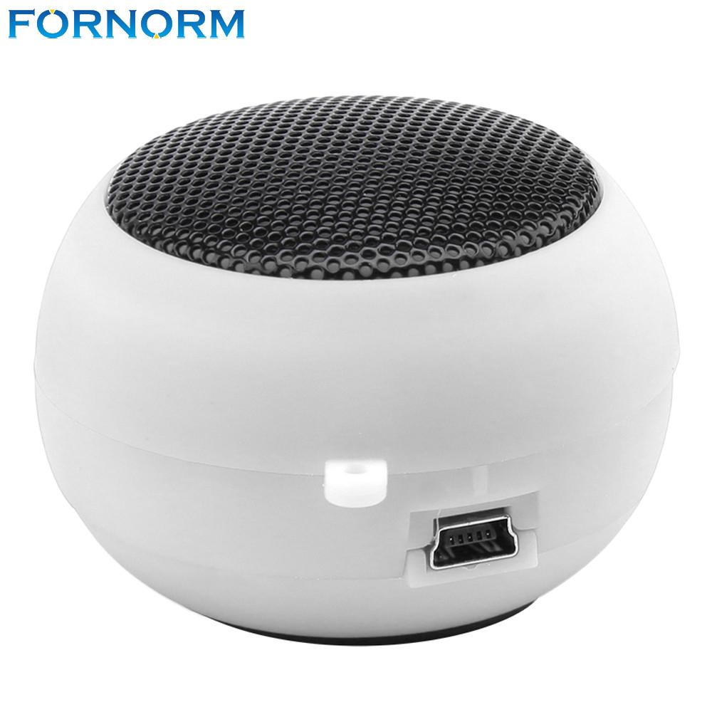 Fornorm Portable Pocket Mini Hamburger Wireless USB Speaker Amplifier for iPhone iPad iPod Laptop PC - EM