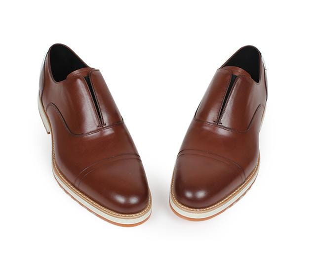 Vikeduo Handmade Designer Slip-On Fashion Casual Office Wedding Party brand male shoe Genuine Leather Men Loafer Dress Shoes