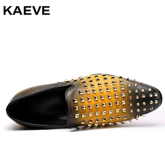 2017 New Men Loafer Chain Pearl Shoes Causal Slip On Flat Driving Loafer For Men Gentleman Black/ Crocodile Leather Men Shoes