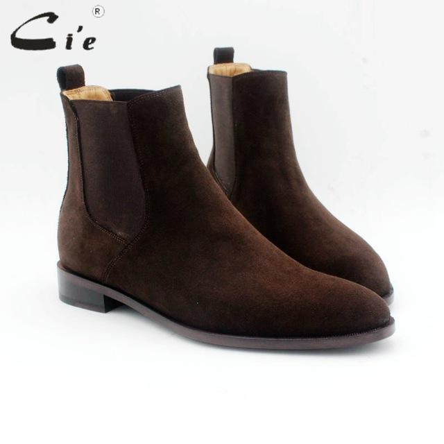 cie Blake/Mackay crafts men's Chelsea boot genuine calf leather bottom outsole calf leather upper handmade multiply colors A169