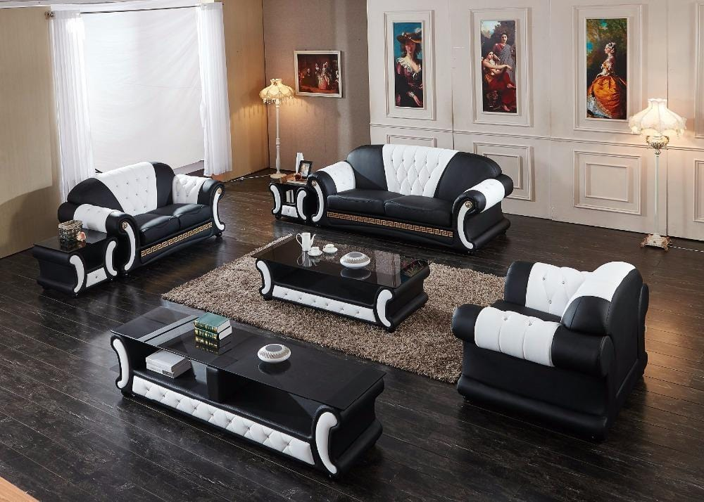 Sectional Sofa New Set Armchair Chaise 2018 Modern Design Hot Sale With Tv Unit Tea Table Living Room Furniture Sofa Group