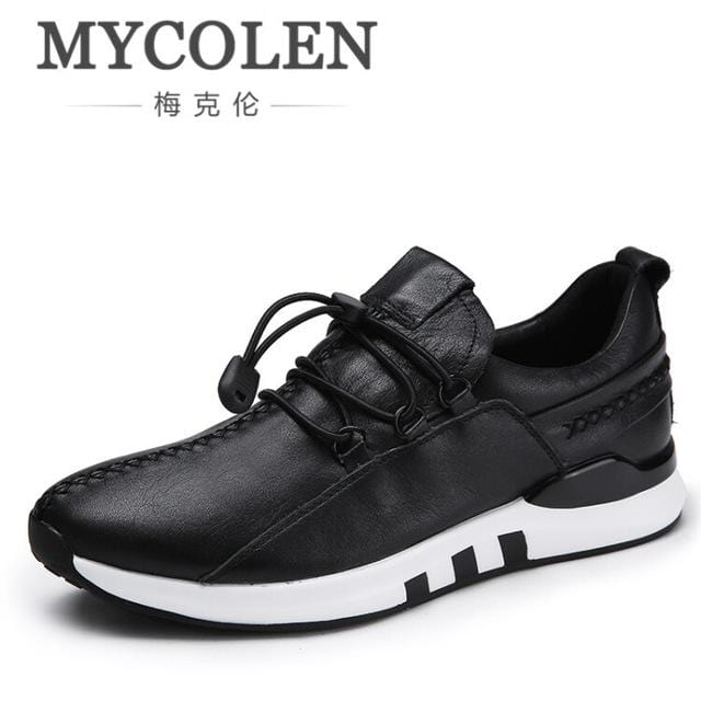 MYCOLEN Autumn Male Shoes Comfort Soft Walking Driving Shoes Men's Casual Shoes Lace Up Men Trainers Shoe Footwear Krasovki