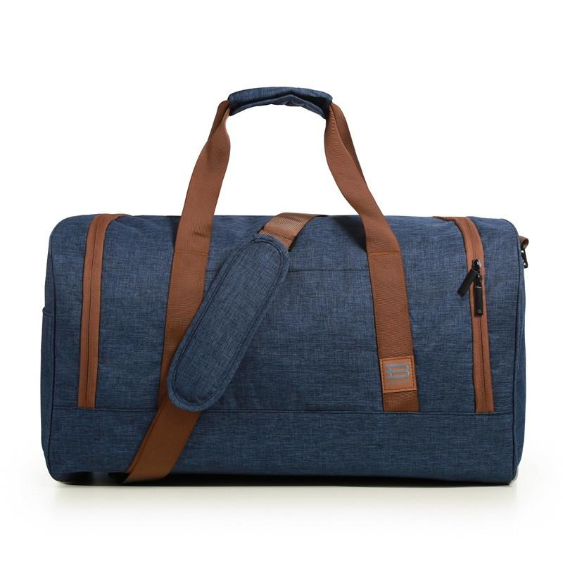 Men Duffle Bag Online for Sale, Hand Luggage Travel Bag with Large Capacity made Nylon - BAGSMART - EM