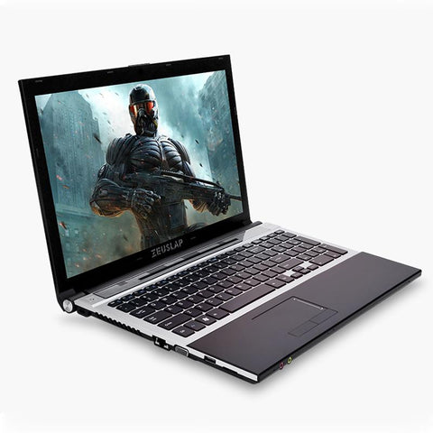 ZUESLAP 15.6inch Intel Core i7 CPU 4GB RAM+240GB SSD+1TB HDD WIFI Bluetooth DVD-ROM Windows 7/10 Laptop Notebook Computer