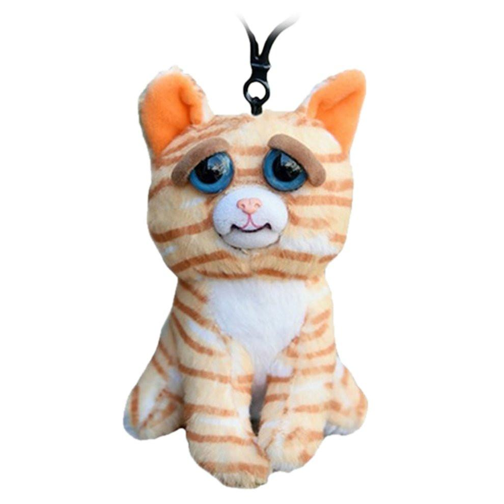Unisex Funny Facial Expression Change Animal Adorable Doll Stuffed Plush Toys Educational Dolls for Christmas Gift - EM