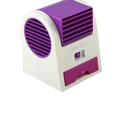Ventilador Power Bank Bladeless Fan Air Conditioner Ventilador Portatil Battery Abanicos Aromatherapy Ventilateur Plastic Leque