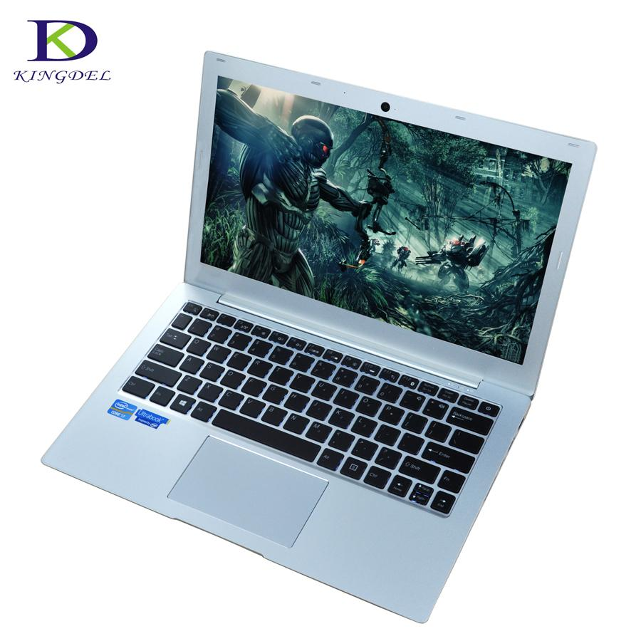 "13.3""Backlit keyboard Bluetooth WIFI Type-c Laptop PC plus FHD Screen SD Win10 up to 3.1GHz Intel HD Graphics 620 Core i5 7200U - EM"