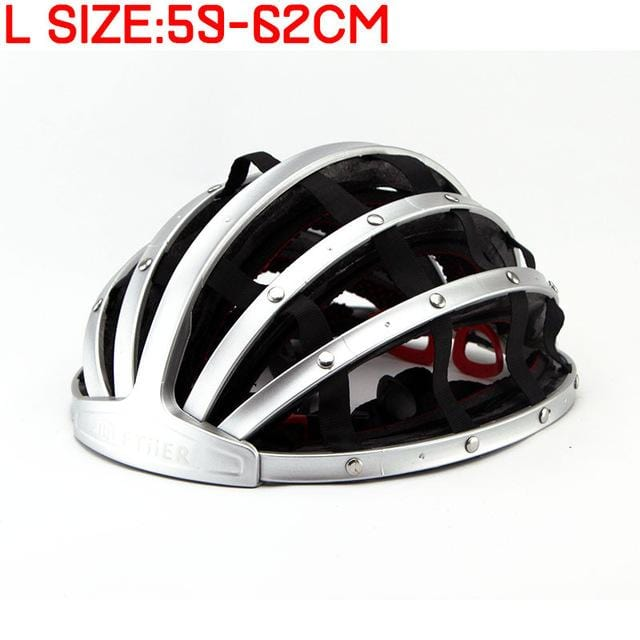 Folding Road Bike Helmet Adult Safety Cycling Helmet High Quality Branded Bicycle Helmet casque velo 56-62cm 250g