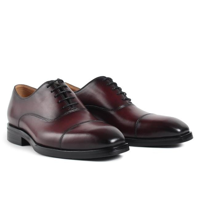 VIKEDUO Luxury Brand Summer Derby Nan Shoes Launch Pure Handmade Dress Casual Male Footwear Genuine Leather Men's Oxford Shoes