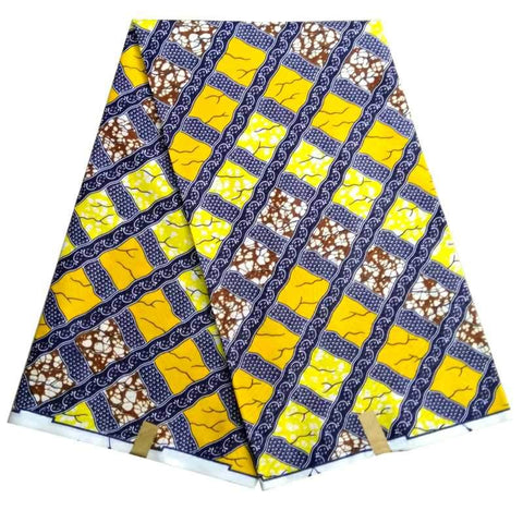 6yards Pagne Africain Super Wax Hollandais Prints African Fabric Cloth Hollandais Wax Wrappar