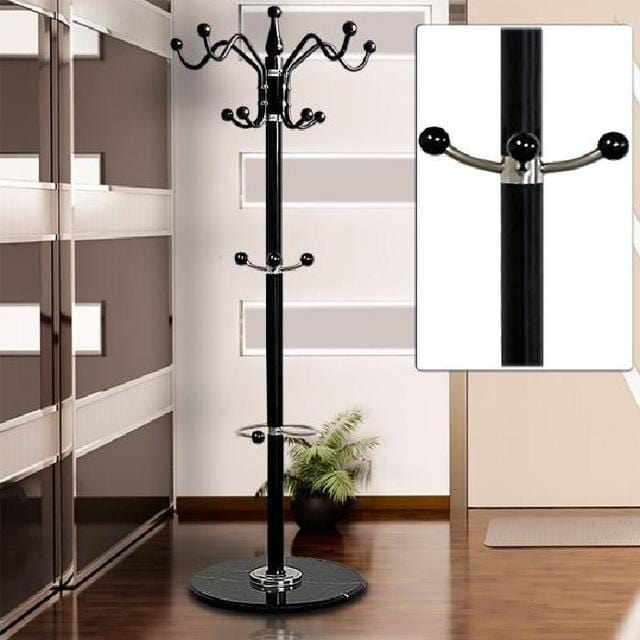 "Coat Rack 70"" Stainless steel Assembly can be removed Bedroom Furniture Hanging storage clothes hanger wardrobe FR DE Stock"