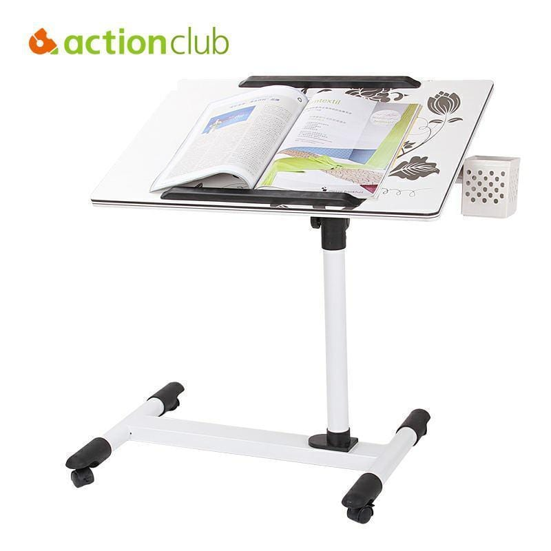 Actionclub Notebook Computer Desk Bed Students Learning With Household Lifting Mobile Table For Sofa Folding Laptop Table