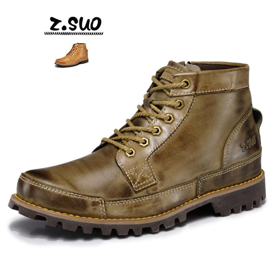 Zosuo Spring And Autumn New England Martin Men Leather Trend Outdoor Leisure Comfortable Men'S Shoes ZS608