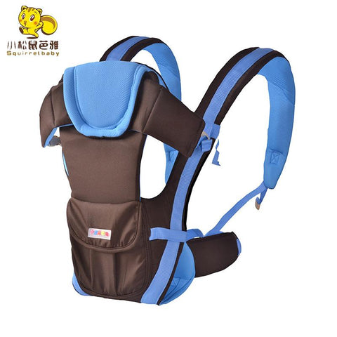 0-30 Months Breathable Front Facing Baby Carrier 4 in 1 Infant Comfortable Sling Backpack Baby Kangaroo