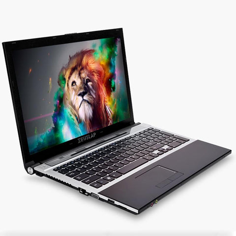 ZEUSLAP 15.6inch Intel Core i7 CPU 8GB+64GB+500GB 1920*1080P FHD WIFI Bluetooth DVD-ROM Windows 7/10 Laptop Notebook Computer - EM