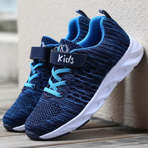 ULKNN Mesh Breathable shoes Student Trainer Footwear chaussure enfant Boys Sneaker For Kids Shoes Children Sport Running Shoes