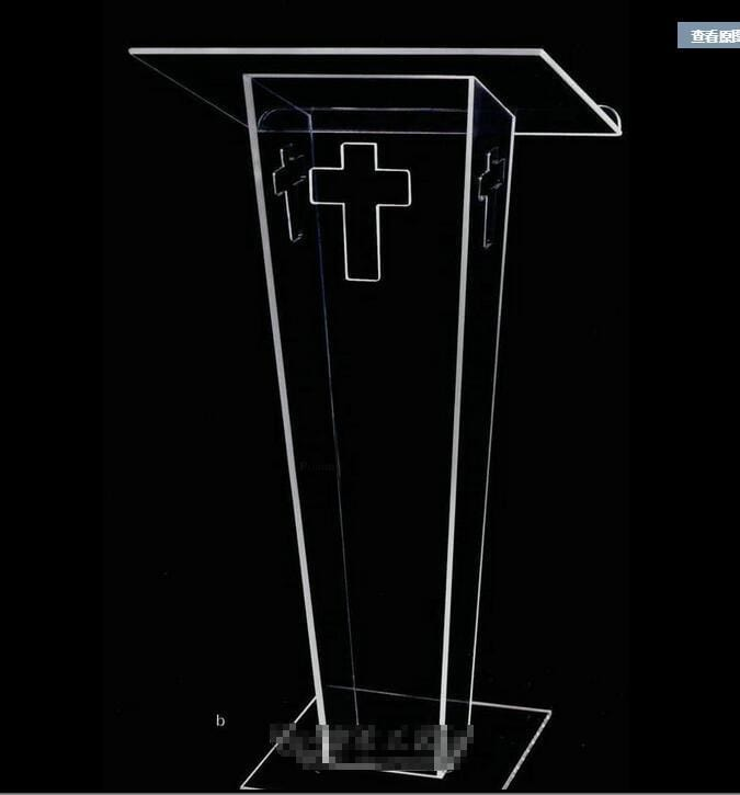 modern acrylic Hot Sale Publipt , acrylic pulpit, modern and stylish 2016 acrylic pulpit church - EM