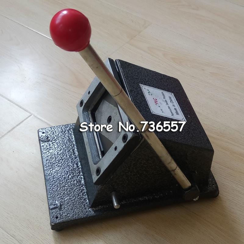 Manual Paper Processing Card Cutter Business Card Cutter Customized Cutting Size Round Corner