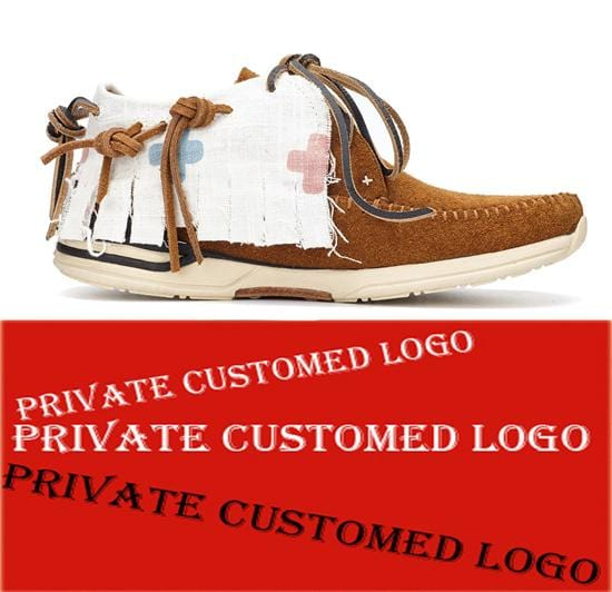 Private Customed Handmade Japanese Goodyear Mens casual Nubuck Sneaker Shoes FBT AMDO - FOLK  Kanye west  shoes
