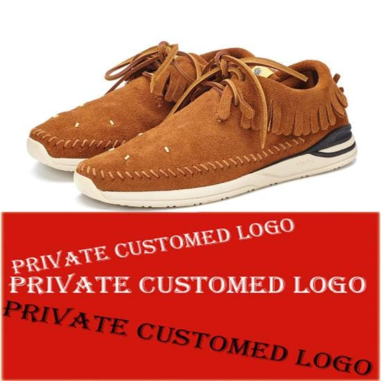 Private Customed Handmade Japanese  Mens casual Nubuck Sneaker Shoes  FBT MALISEET SHAMAN FOLK Tassel Low Help kanye west Shoes