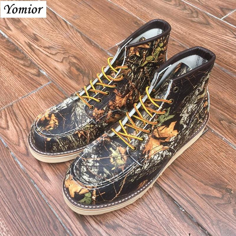 Yomior Brand Spring Autumn Genuine Leather Boots Men Cow Leather Motorcycle Boots Fashion Dress Business Wedding Ankle Boots