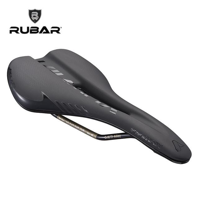RUBAR Soft MTB Road Bike Bicycle Saddle Titanium Bow Bike Seat Cycling Saddle Seat Cushion Vtt Velo Accessoires Mtb Hollow Out