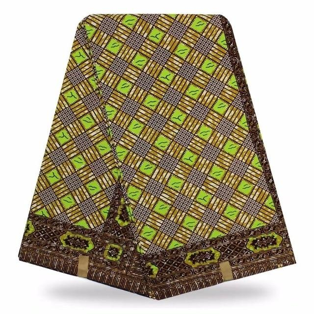 veritable wax hollandais guaranteed real dutch wax high quality pagne super wax hollandais african ankara sewing fabric YG3 - EM