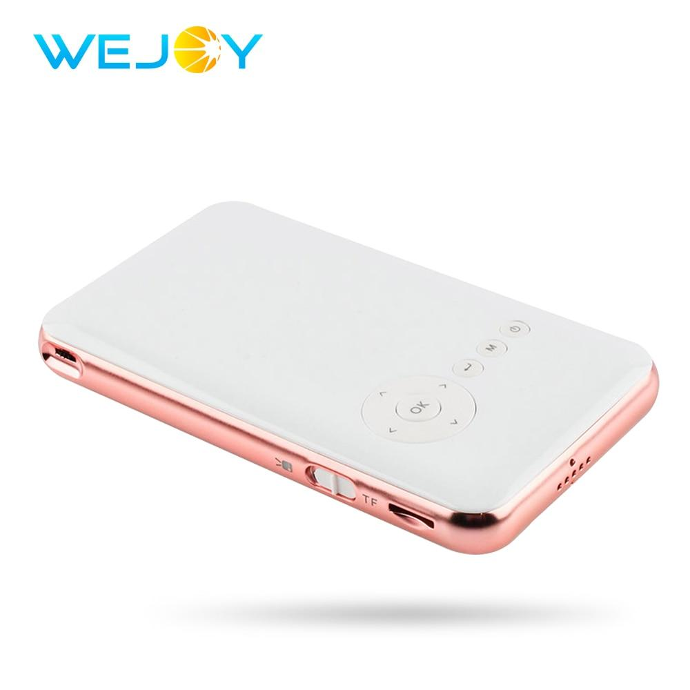 Wejoy Mini Projector DL-S6+ 32G Android BT Pocket Mobile Phone Projector LED DLP Wifi TF HDMI IN Video Pico Portable Projecteur - EM