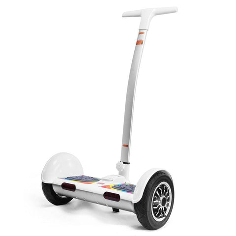 10 inch Latest Self Balancing Scooter Stand up Electric Smart Scooter with handle Hoverboard trotinette - EM