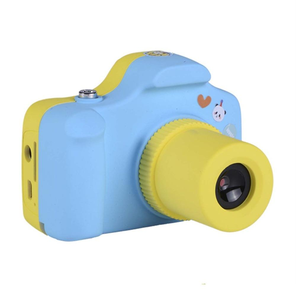 5.0MP Kids Children Digital Camera 1.5 inch LCD Screen Cute Design Mini Camera Christmas Birthday Gift Small SLR Photo Video - EM