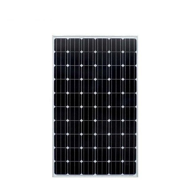 Pannello Solare 20v 250w 10Pcs Solar Home System 2500W 2.5KW Solar Battery Charger Off/On Grid System Motorhome RV Light System - EM