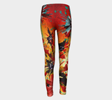 Wild & Wonderful IV Youth Leggings - kenbonnerart