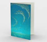 Down on the Beach - Blank Greeting Cards - kenbonnerart