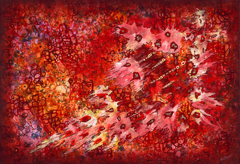 Flight of Passion (Print on Fine Art Paper) - kenbonnerart