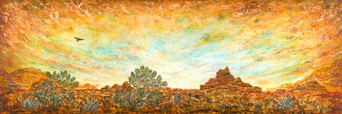 High Desert Enchantment I (Print on Fine Art Paper) - kenbonnerart