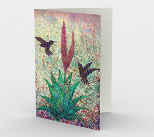 Dance of Enchantment - Blank Greeting Cards - kenbonnerart