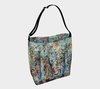 Blue Moon Tote Bag - kenbonnerart