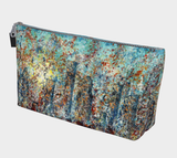 Blue Moon Makeup Bag - kenbonnerart